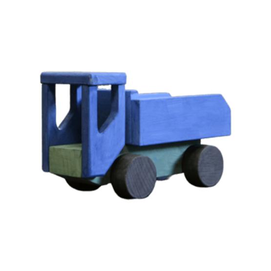 Puidust mänguasi-konstuktor veoauto Villi